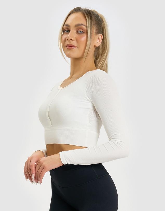 Women Lana Long Sleeve Crop