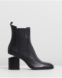 Mollini - Vulcan Leather Ankle Boots