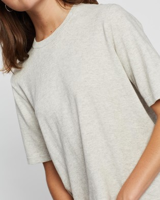 Assembly Label Cotton Cashmere Lounge Tee - Tops (Grey)