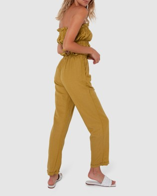 Madison The Label Phoenix Pants - Pants (Citrus)