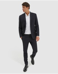 SABA - Flinders Textured Suit Jacket