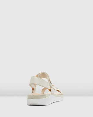 Clarks Tri Sporty - Sandals (White Leather)