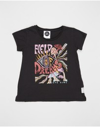Eve Girl - Field Of Dreams Tee - Kids - Teens