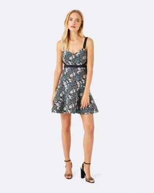 Forever New – Celeste Cut Out Prom Dress – Dresses (Floral Jacquard)