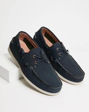 Rodd & Gunn Gordons Bay Boat Shoes - Dress Shoes (Indigo)
