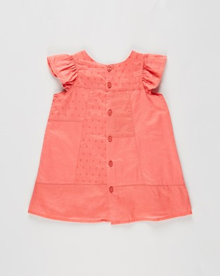 Cotton On Baby Mabel Dress   Babies - Dresses (Coral Crush)