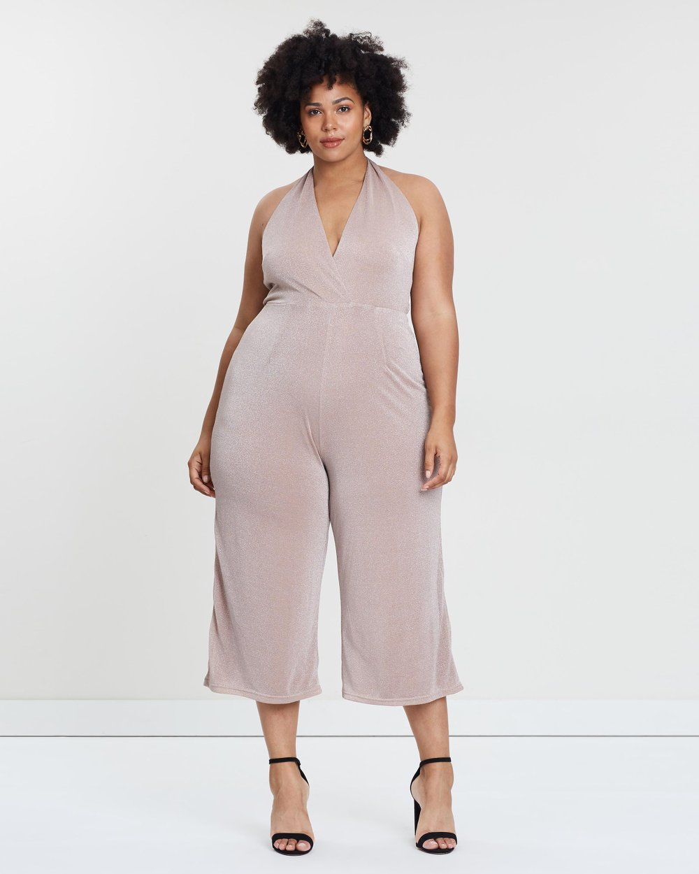 ICONIC EXCLUSIVE - Leilani Halter Neck Jumpsuit by Atmos Here Curvy Online   915681a71