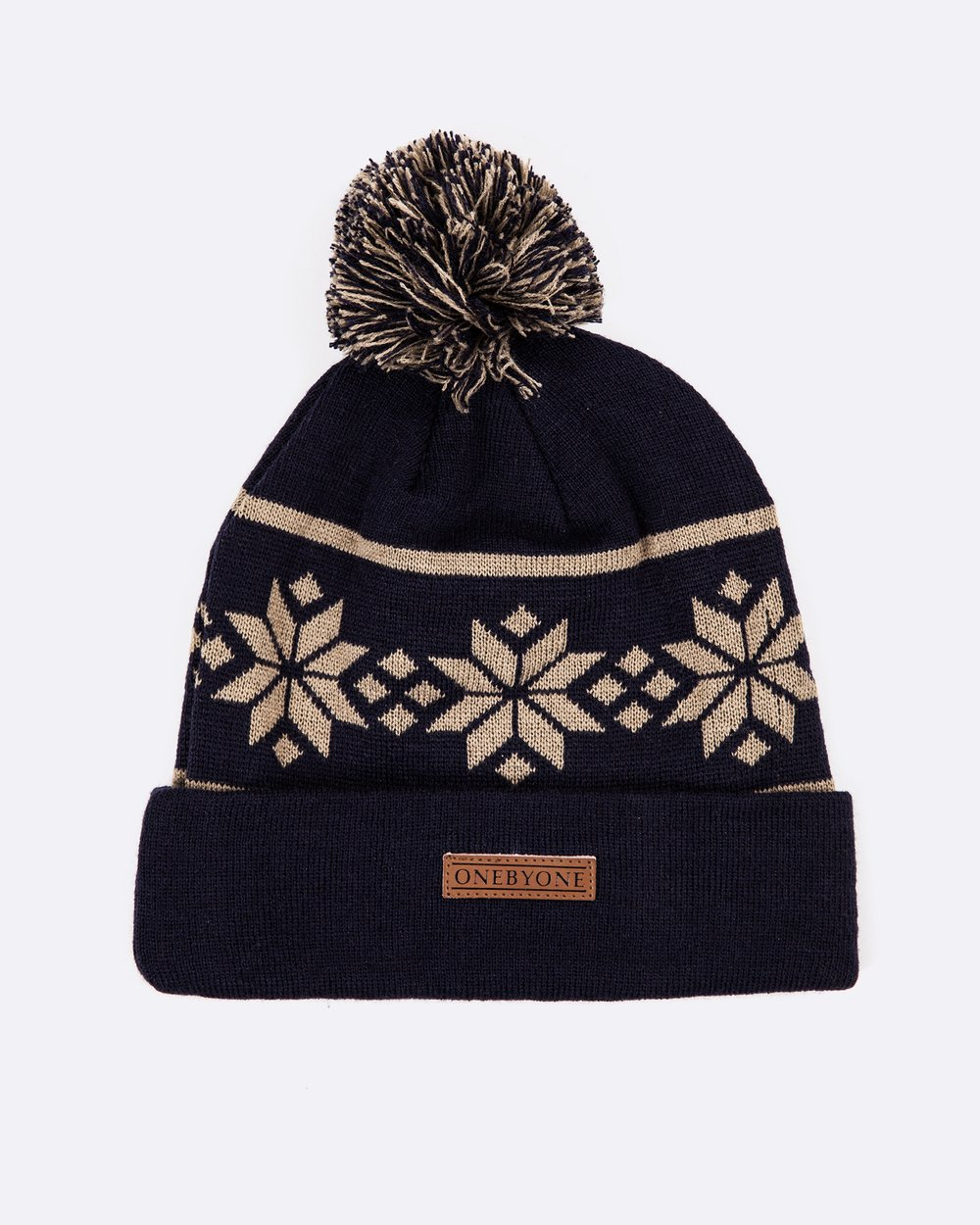 fbad70d7c60 Snowflake Beanie by ONEBYONE Online