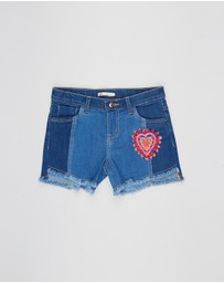 Billieblush - Denim Shorts - Kids-Teens