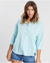 Atmos&Here - ICONIC EXCLUSIVE - Roma Relaxed Linen Shirt
