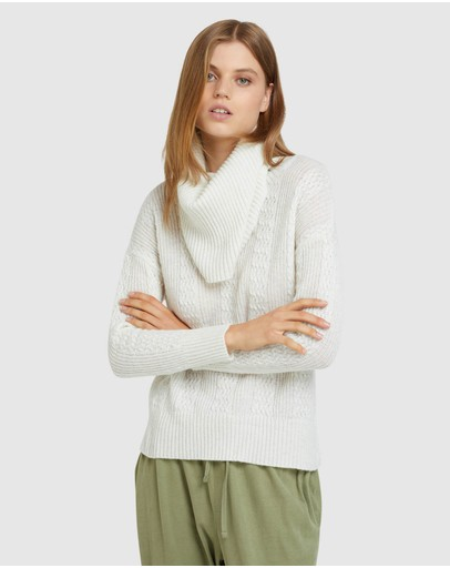 Oxford - Harper Roll Neck Knit