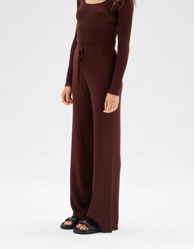 Women Lola Rib Knit Pants