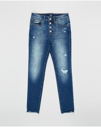GapKids - High-Rise Destructed Jeggings - Teens
