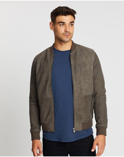 Jack & Jones - Jake Suede Bomber