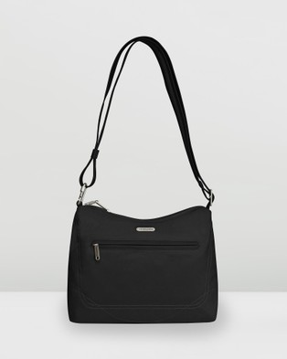 Travelon Classic Shoulder Bag - Bags (Black)