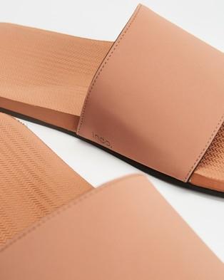 Indosole ESSENTLS Slides   Men's - Casual Shoes (Rust)