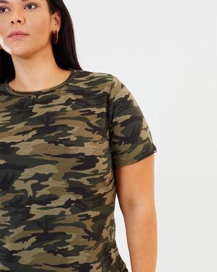 Atmos&Here Curvy Camo Tee - T-Shirts & Singlets (Camo)
