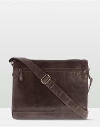 Cobb & Co - Declan Leather Laptop Bag