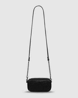 Status Anxiety New Normal Crossbody Bag - Handbags (Black Bubble)
