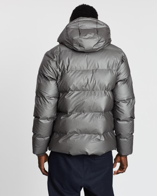 RAINS Puffer Jacket   Unisex - Coats & Jackets (Metallic Charcoal)