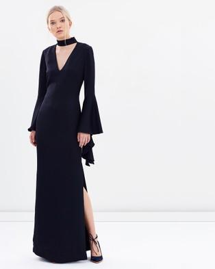 Carla Zampatti – Senorina Gown – Dresses (Navy)