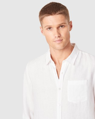 French Connection Soft Cotton Regular Fit Shirt - Casual shirts (WHITE)