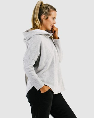 Avila - Swing Back Hoodie Hoodies (Grey)