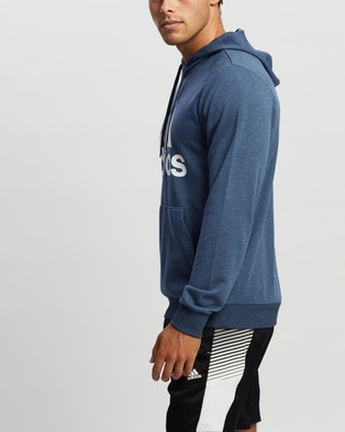 adidas Performance Pull Over Hoodie - Hoodies (Crew Navy & White)