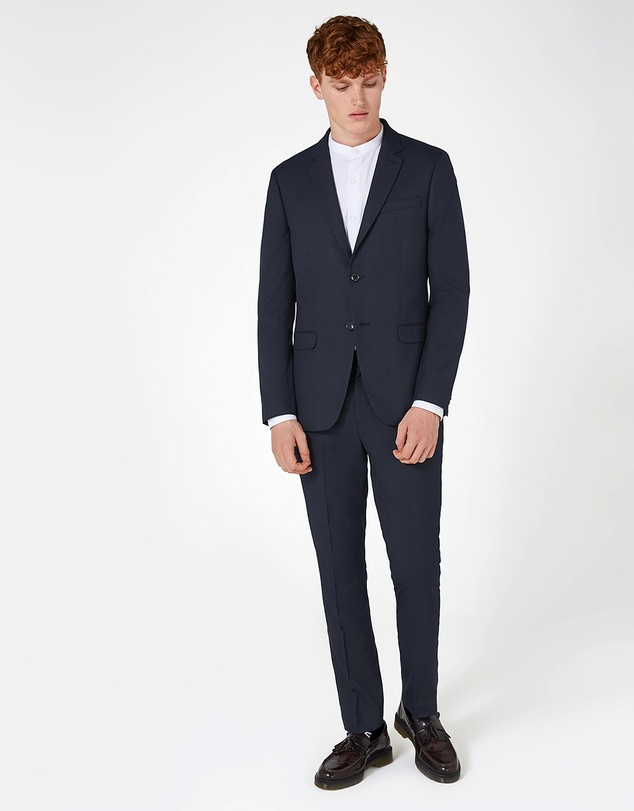 Topman - Skinny Fit Suit Jacket
