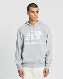 New Balance - Essentials Stacked Pullover Hoodie