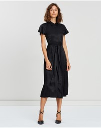 ICONIC EXCLUSIVE - Camilla Pleated Dress