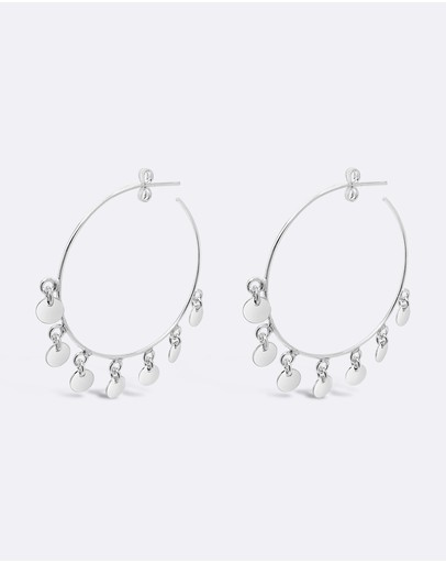 Ichu Tiny Dancer Hoops 925 Sterling Silver