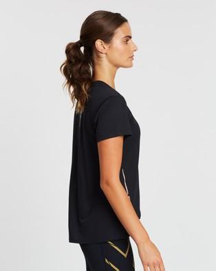 2XU XVENT G2 SS Tee - Short Sleeve T-Shirts (Black & Multi Reflective)