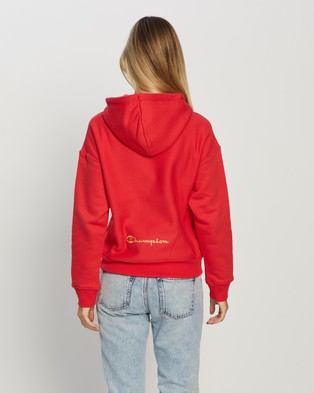Champion Reverse Weave Century Hood - Hoodies (Red Spark)