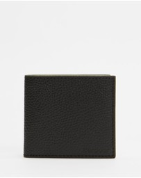 Barbour - Grain Leather Billfold Wallet