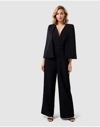 Forever New - Yvette Cape Jumpsuit