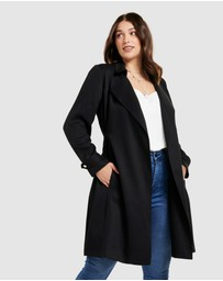 Forever New Curve - Lettie Soft Curve Trench Jacket