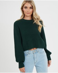 Calli - Jayden Balloon Sleeve Jumper