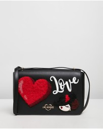 LOVE MOSCHINO - Patch Detail Cross-Body Bag