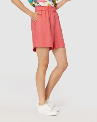 Gorman Sorbet Shorts - Chino Shorts (Red)
