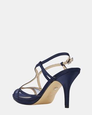 NINA Blossom - Heels (NAVY)