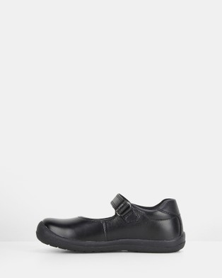 Harrison Kasey School Shoes - Flats (Black E+)