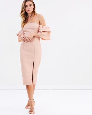 Keepsake the Label – Magnolia Dress Peach