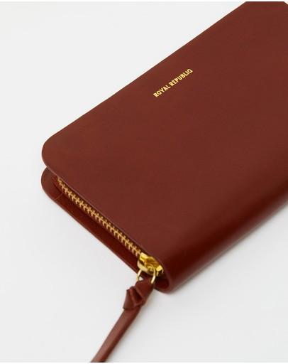 Royal Republiq Galax Wallet Mini Cognac