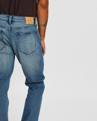 Rolla's Tim Slim Jeans - Slim (Old Bluey)