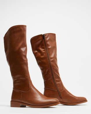 Freelance Shoes Jessie - Knee-High Boots (Tan)