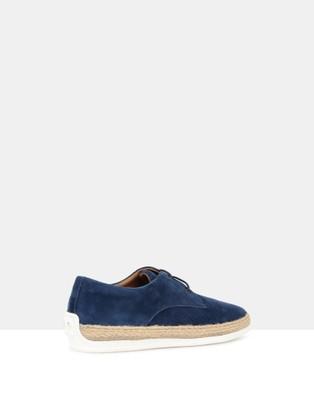 Brando Crevo Lace Ups - Casual Shoes (BLUE-400)