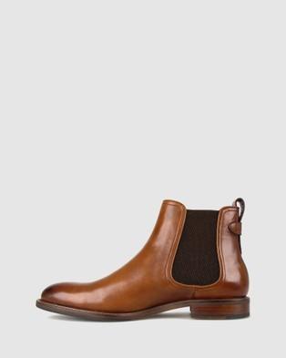 Airflex Jeffery Leather Chelsea Boots - Boots (Tan)