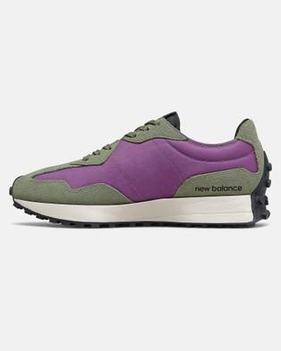 New Balance 327 Standard Fit Men's Low Top Sneakers Sour Grape