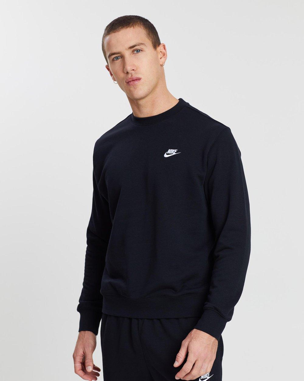 Para buscar refugio gris Alfombra  Sportswear Club French Terry Crew - Men's by Nike Online | THE ICONIC |  Australia